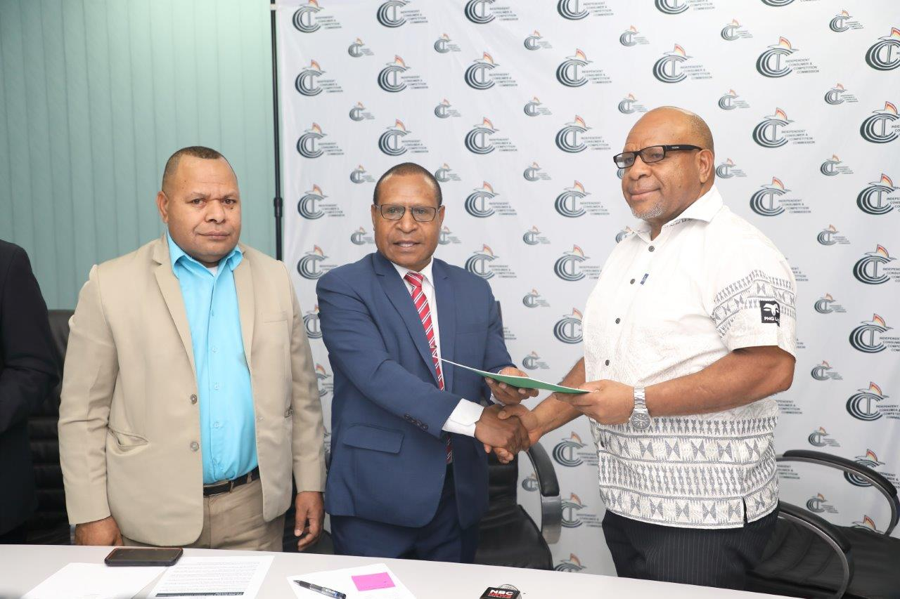 ICCC issues licence to Dirio